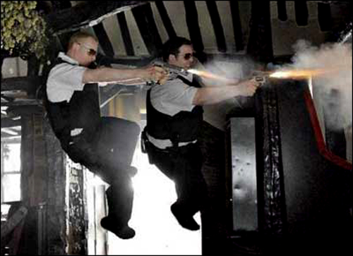 hot fuzz movie review Oh, that simon pegg he certainly knows how to make a comedy 'hot fuzz' gives the same comic treatment to the hollywood genre of the buddy cop film as 'shaun of the dead' did to the horror.