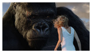 king kong and ann darrow - naomi watts