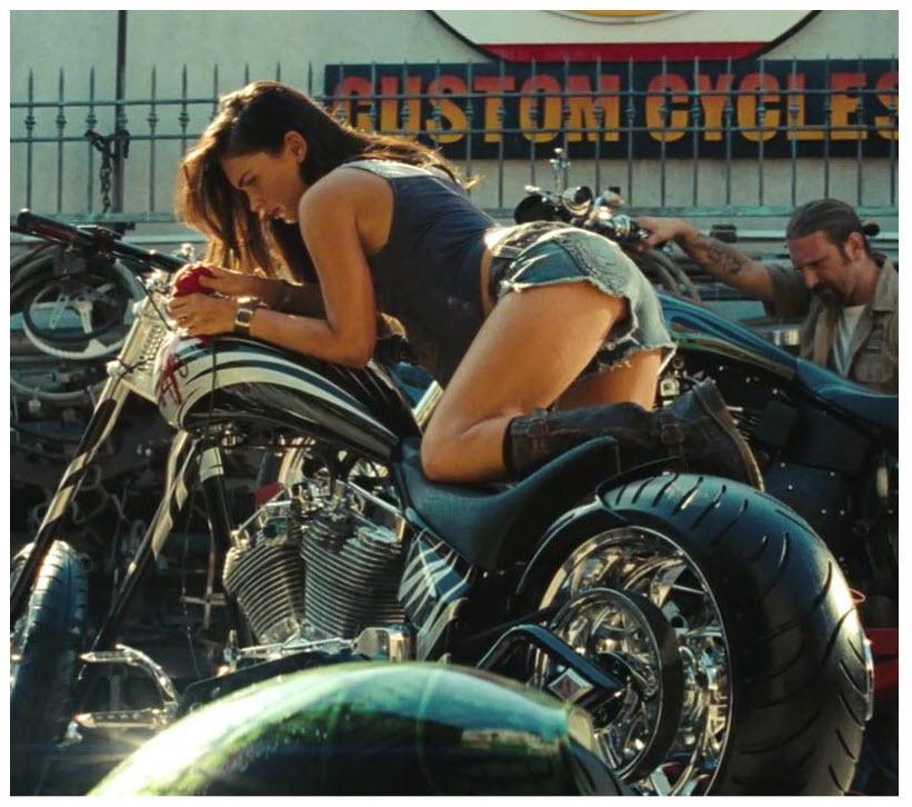 Megan Fox In Transformers Revenge Of The Fallen