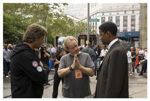 Ridley Scott, Denzel Washington, Russel Crowe