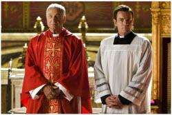 Ewan McGregor as The Camerlengo and Armin Mueller-Stahl
