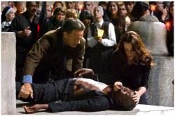 Angels & Demons - Tom Hanks and Ayelet Zurer