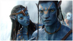 Avatar - Zoe Saldana and Sam Worthington