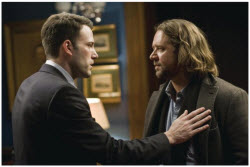 Ben Affleck and Russel Crowe in State Of Play