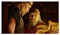 Ray Winstone and Anthony Hopkins - Beowulf and King Hrothgar