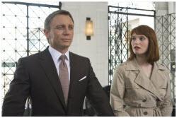 Daniel Craig/James Bond with new Bond Girl Gemma Arterton/Strawberry Fields