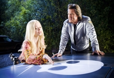 Grindhouse: Death Proof - Kurt Russel and Rose McGowan