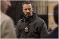 Edward Norton as Ray Tierney in Pride and Glory