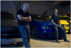 Vin Diesel and Paul Walker in Fast & Furious