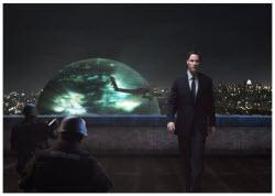 Keanu Reeves as Alien Klaatu in The Day The Earth Stood Still