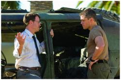 Green Zone - Matt Damon and Greg Kinnear