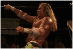 Mickey Rourke is the Wrestler
