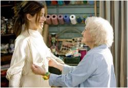 Sandra Bullock with Golden Girl Betty White