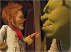 Shrek and Rumpelstiltskin
