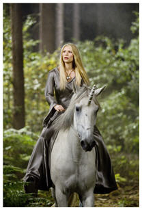 Claire Danes, the fallen star on a unicorn