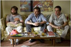 The Hangover - Bradley Cooper, Zach Galifianakis, Ed Helms