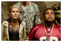 Rachael Taylor and Anthony Anderson