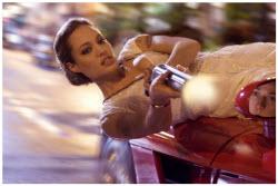 Wanted - Angelina Jolie as assassin Fox